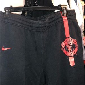ManU Nike sweatpants